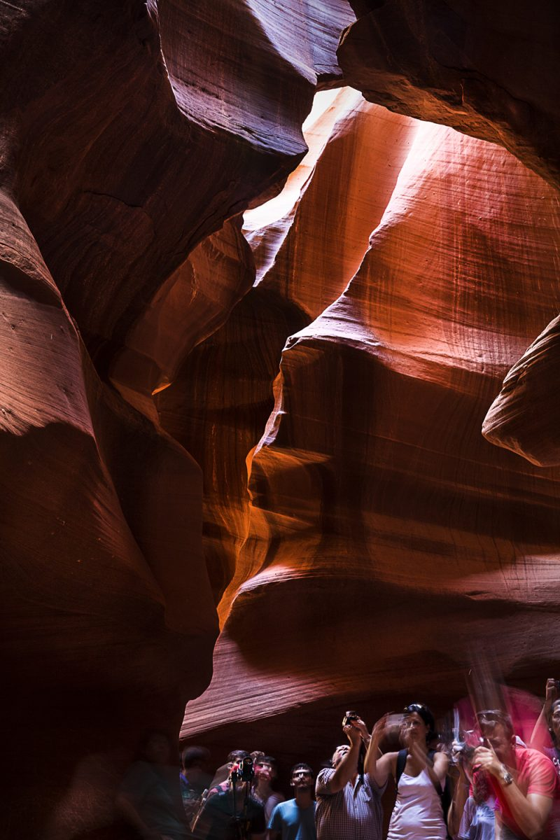 USA, Arizona, Antelope Canyon (upper)