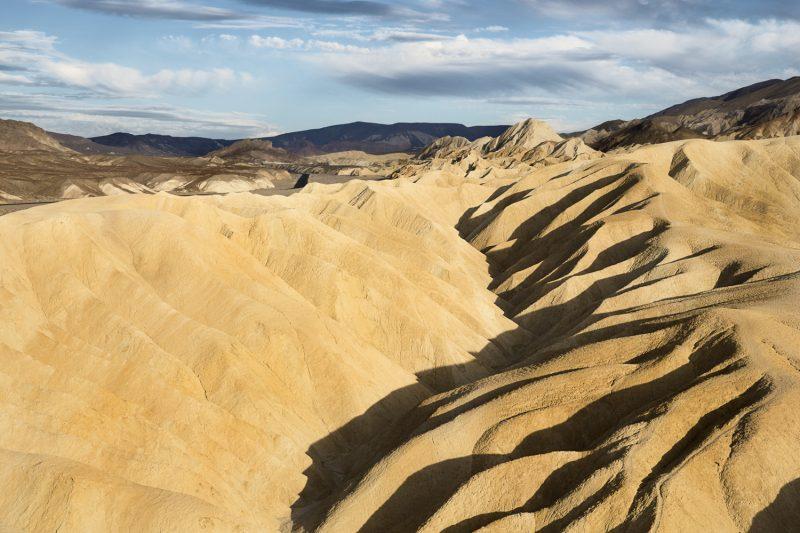 USA, California, Death Valley, Zabriskie Point