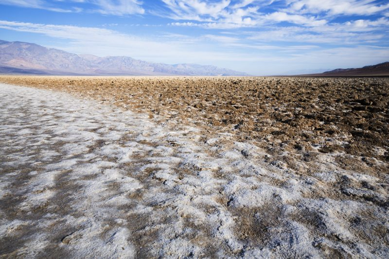 USA, California, Death Valley, Badwater