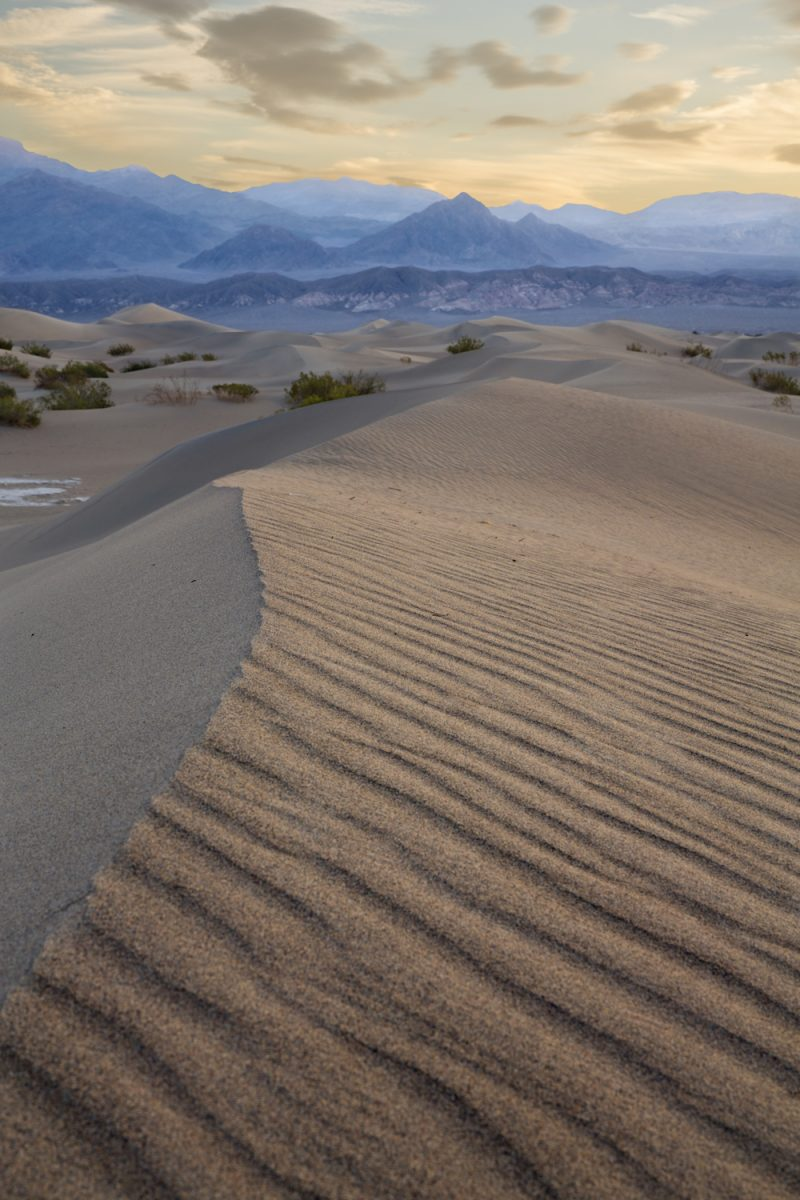 USA, California, Death Valley, Mesquite Flat Sand Dunes