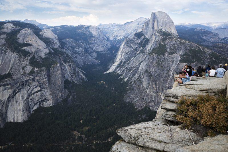 USA, California, Yosemite NP, Glacier Point